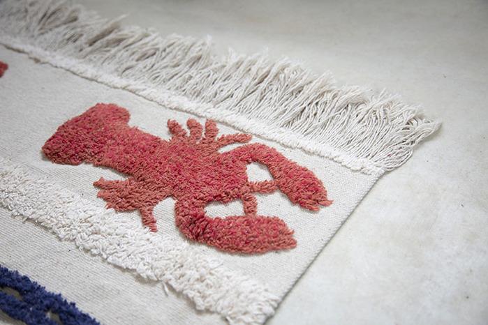 (複製)Lorena Canals 柔麗紡|龍蝦迷你地毯