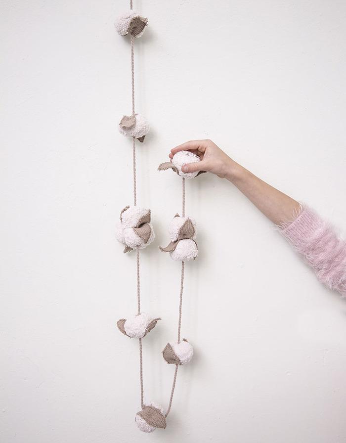 Lorena Canals 柔麗紡|棉鈴花圈掛飾
