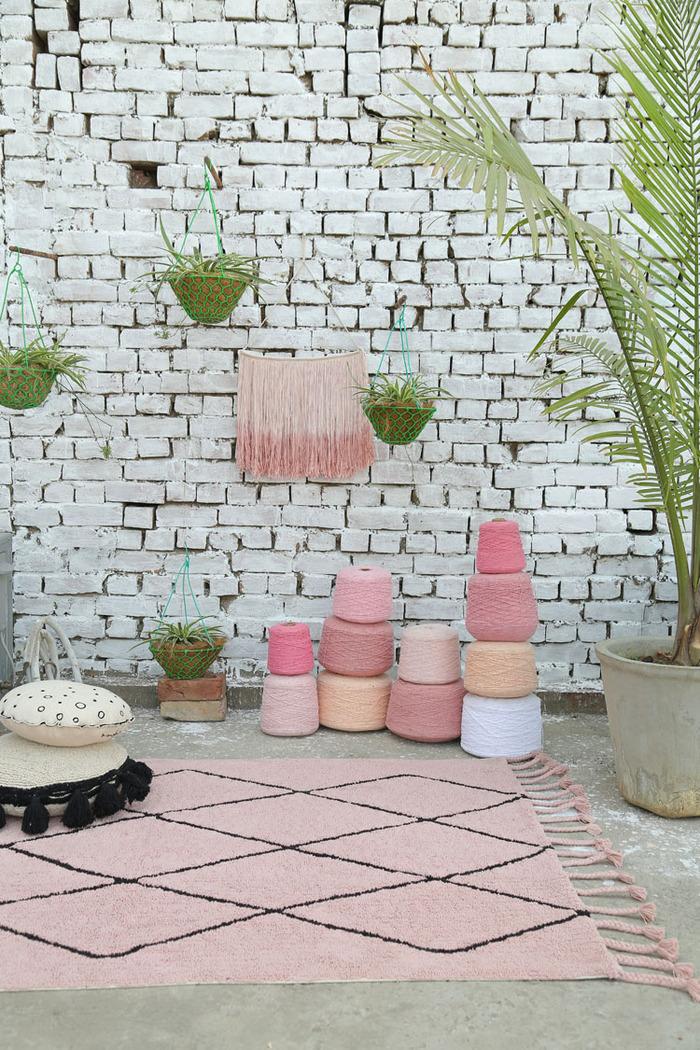 (複製)Lorena Canals 柔麗紡|胭脂玫瑰地毯