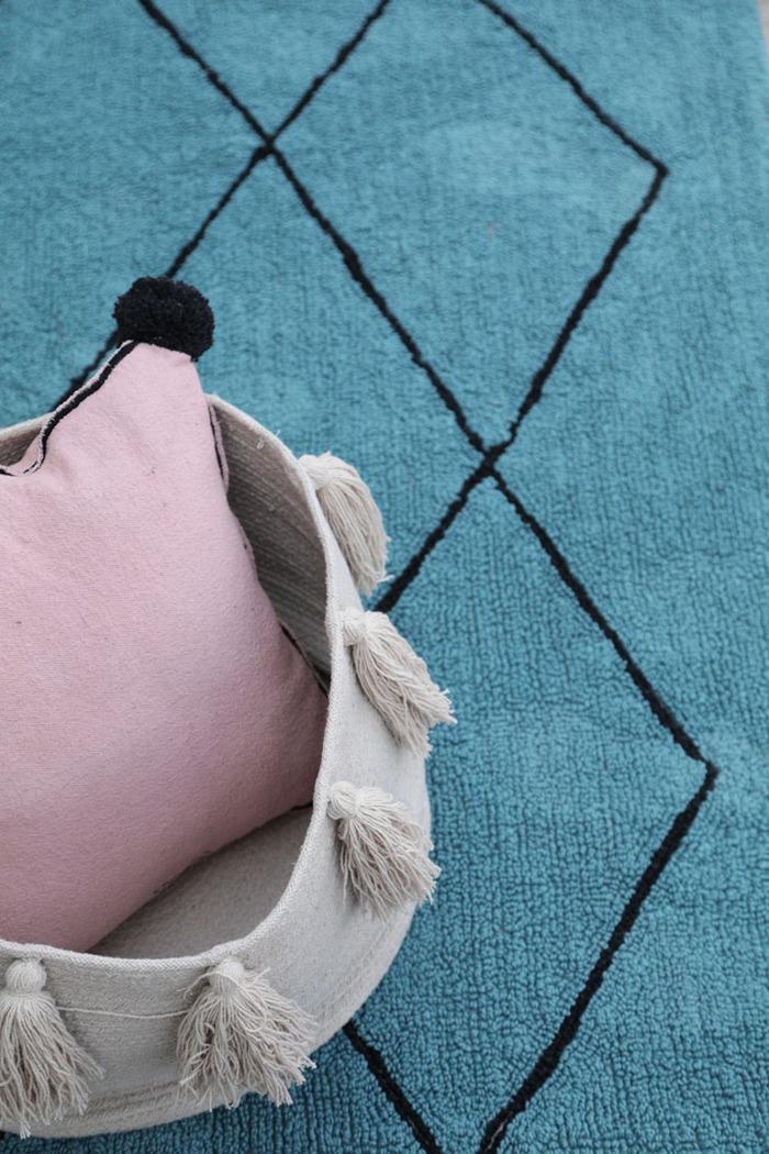 (複製)Lorena Canals 柔麗紡|北非夢境地毯-粉妃夕陽