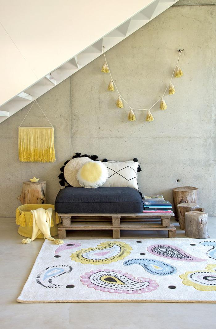 (複製)Lorena Canals 柔麗紡|佩斯里花園地毯(理智)