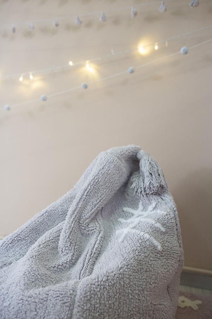 (複製)Lorena Canals 柔麗紡|ZOCO提把收納籃(乾燥玫瑰)