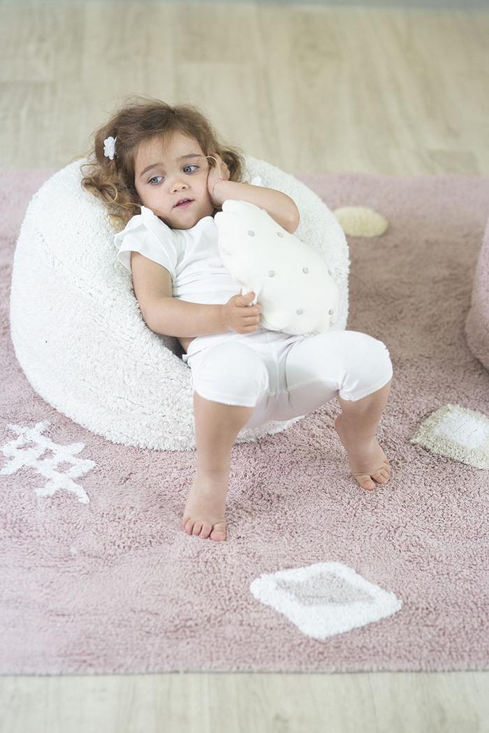 (複製)Lorena Canals 柔麗紡|曲奇餅小枕頭-莓果粉