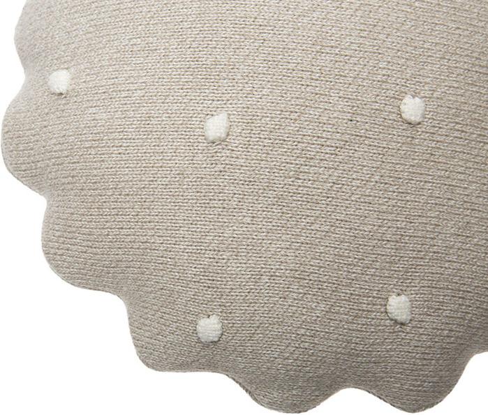 (複製)Lorena Canals 柔麗紡|曲奇餅小枕頭-牛奶白