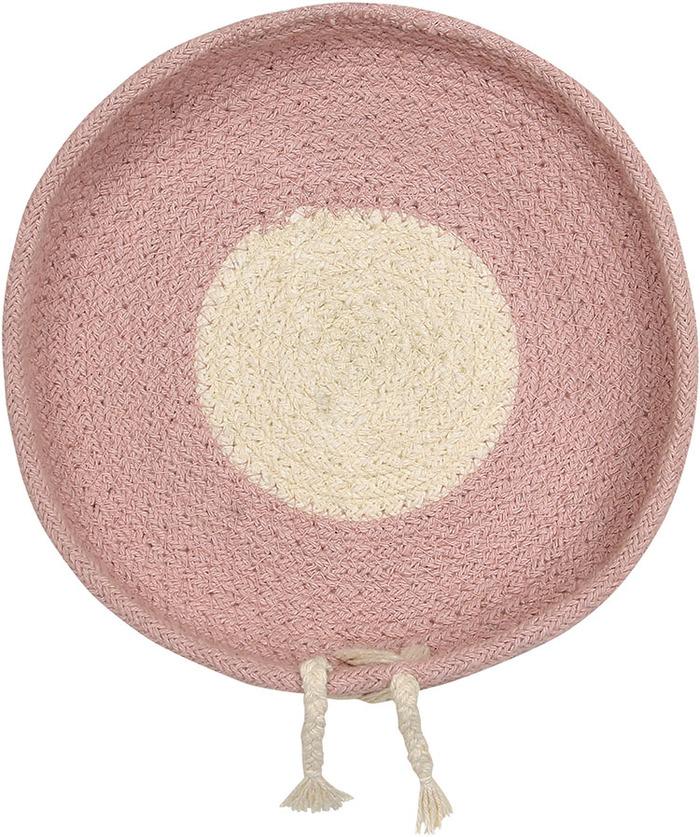 (複製)Lorena Canals 柔麗紡|糖果盒收納籃(大)-莓果粉