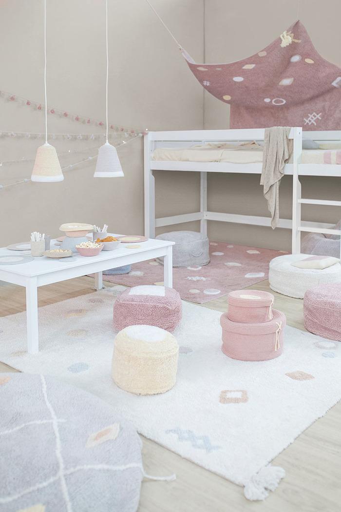 (複製)Lorena Canals 柔麗紡|熱帶假期地毯(粉紅暮色)