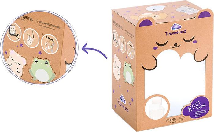 (複製)Träumeland 璀夢地│安全感嬰兒睡窩-玫瑰粉