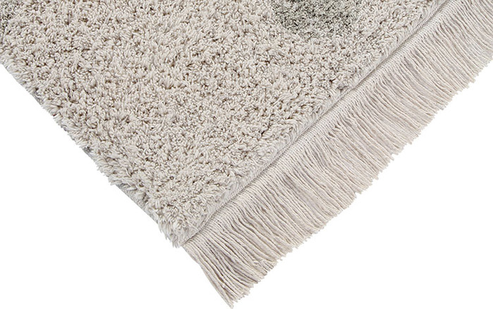 Lorena Canals 柔麗紡|永晝光圈地毯-日落粉