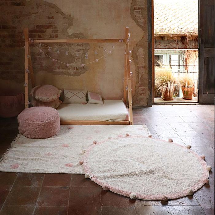 (複製)Lorena Canals 柔麗紡|永晝光圈地毯-極光綠