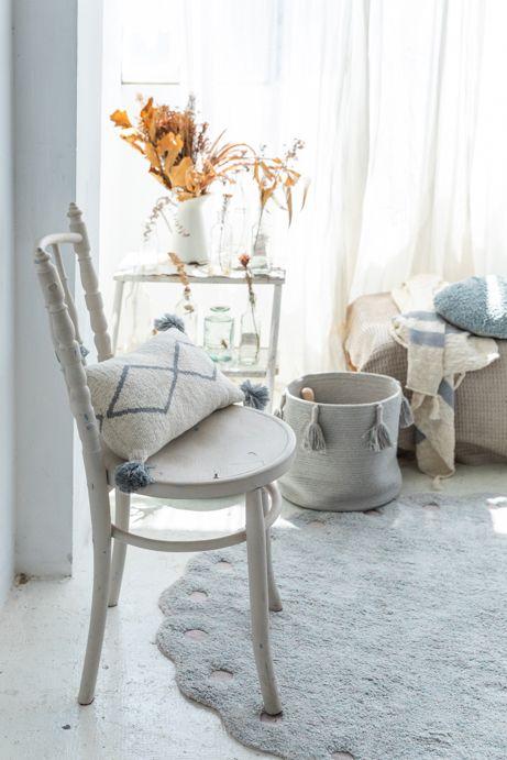 Lorena Canals 柔麗紡|小松毬地毯-泡泡藍