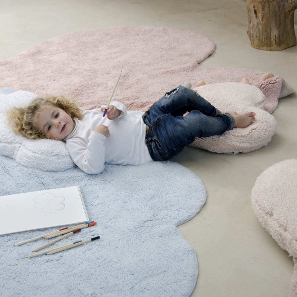 Lorena Canals 柔麗紡 愛心泡芙地毯