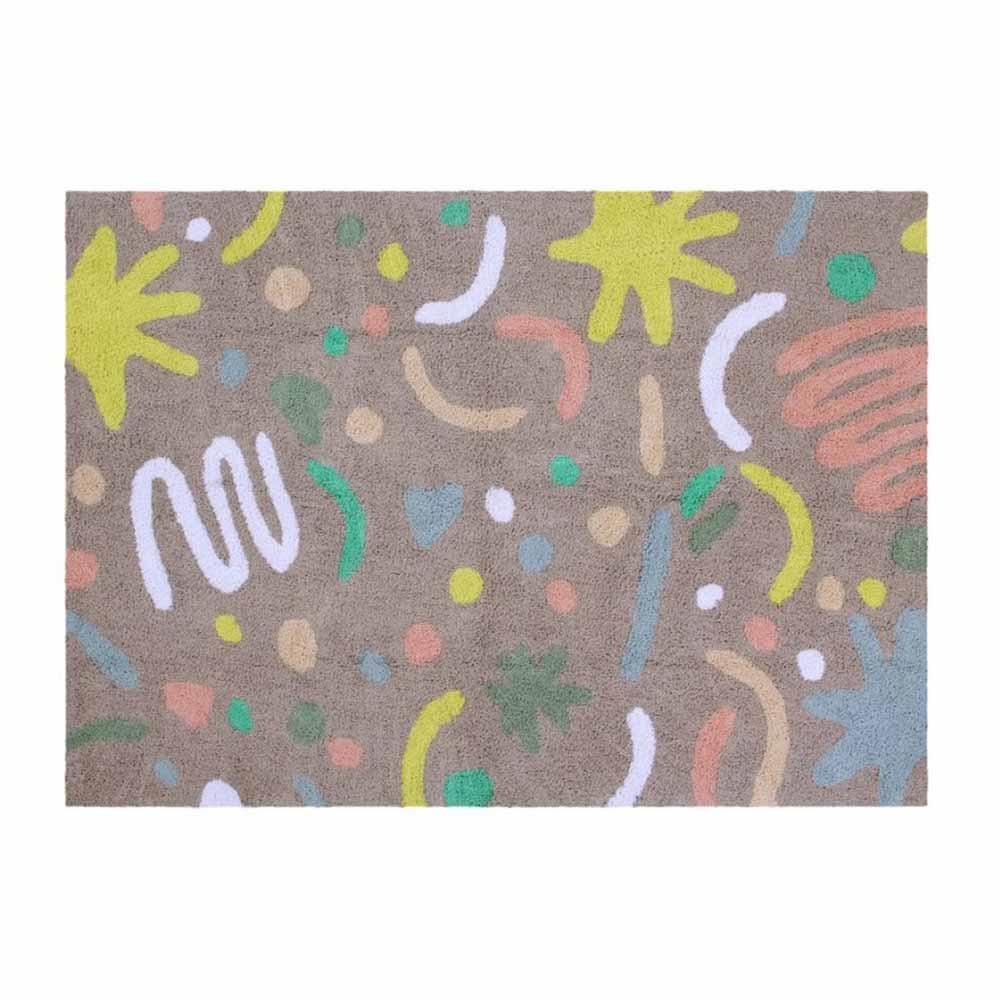 Lorena Canals 嬉遊塗鴉地毯