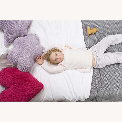 Lorena Canals 柔麗紡|棉花糖雲朵靠枕(紫)