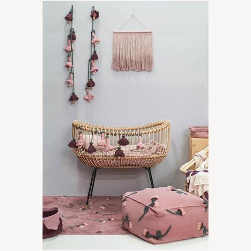 Lorena Canals 柔麗紡|胭脂玫瑰地毯