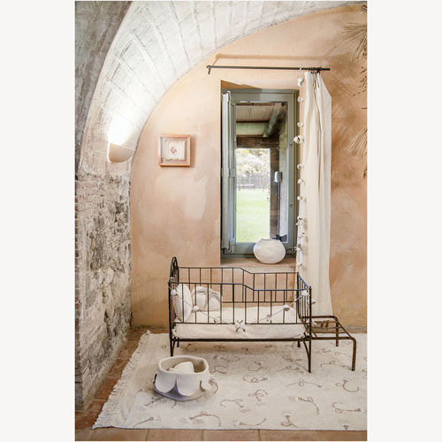 Lorena Canals 柔麗紡|象牙百合地毯