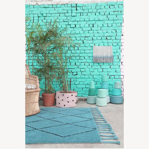 Lorena Canals 柔麗紡|北非夢境地毯(綠洲湖光)