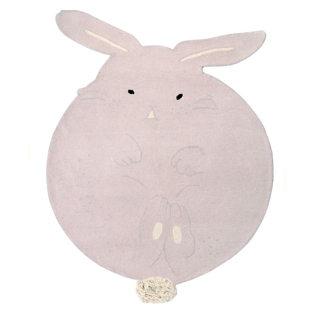 Lorena Canals 柔麗紡|俏比圓兔地毯
