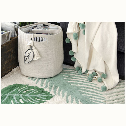 Lorena Canals 柔麗紡 熱帶假期地毯(避暑綠林)