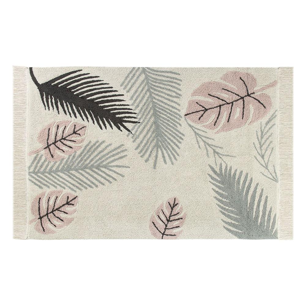 Lorena Canals 柔麗紡 熱帶假期地毯(粉紅暮色)