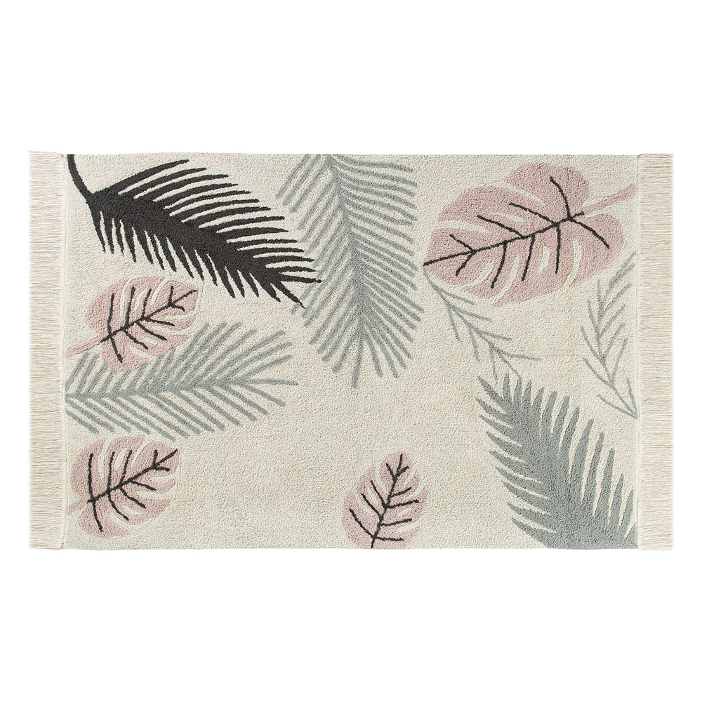 Lorena Canals 柔麗紡|熱帶假期地毯(粉紅暮色)
