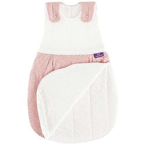 奧地利璀夢地 Träumeland│深呼吸嬰兒睡袋-粉紅泡泡