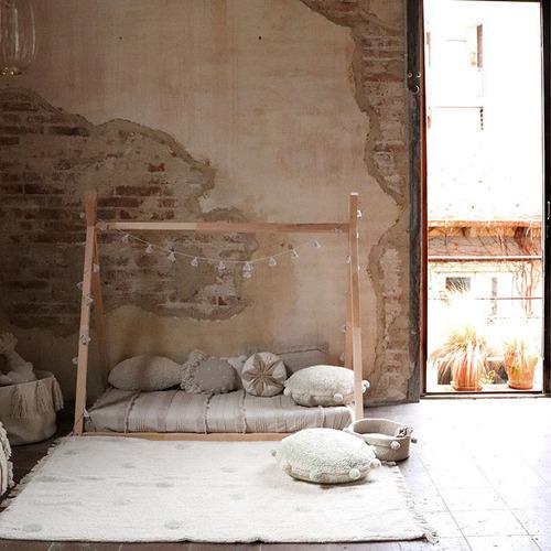 Lorena Canals 柔麗紡|永晝光圈地毯-極光綠