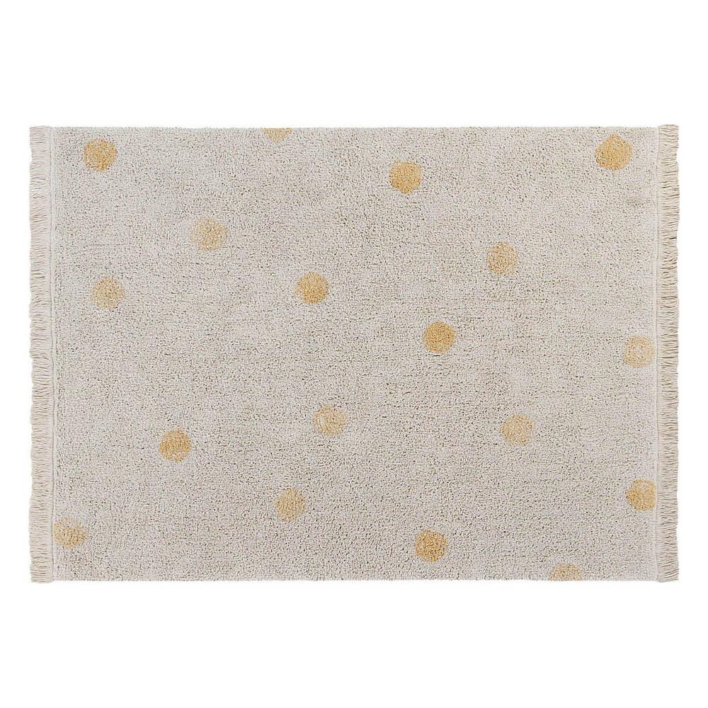 Lorena Canals 柔麗紡|永晝光圈地毯-星光黃