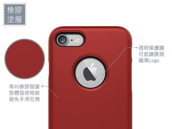 (複製)SEIDIO|都會時尚雙色手機保護殼 for Apple iPhone X-SURFACE(消光黑)
