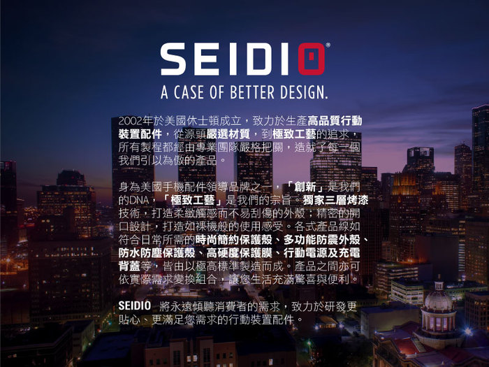 SEIDIO OPTIK 四角氣墊輕透保護殼for Google Pixel 3a XL