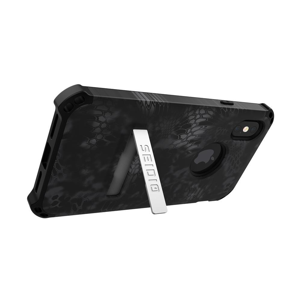 SEIDIO|軍規級四角防摔手機殼/保護殼 for Apple iPhone X-DILEXx KRYPTEK(暗夜黑蟒)
