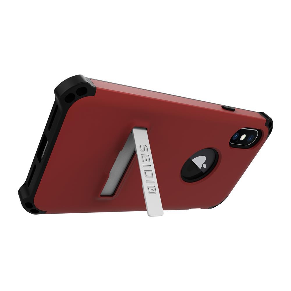 SEIDIO|軍規級四角防摔手機殼/保護殼 for Apple iPhone X-DILEX(熱情紅)
