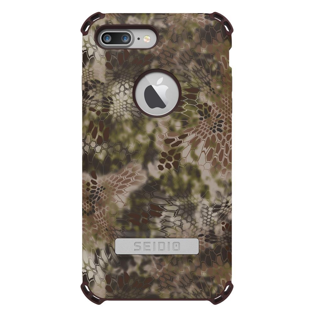 SEIDIO|軍規級四角防摔手機殼/保護殼 for Apple iPhone 7 Plus/8 Plus-DILEXx KRYPTEK(荒野戰士)