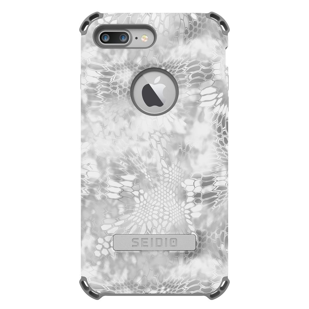 SEIDIO|軍規級四角防摔手機殼/保護殼 for Apple iPhone 7 Plus/8 Plus-DILEXx KRYPTEK(極地雪怪)