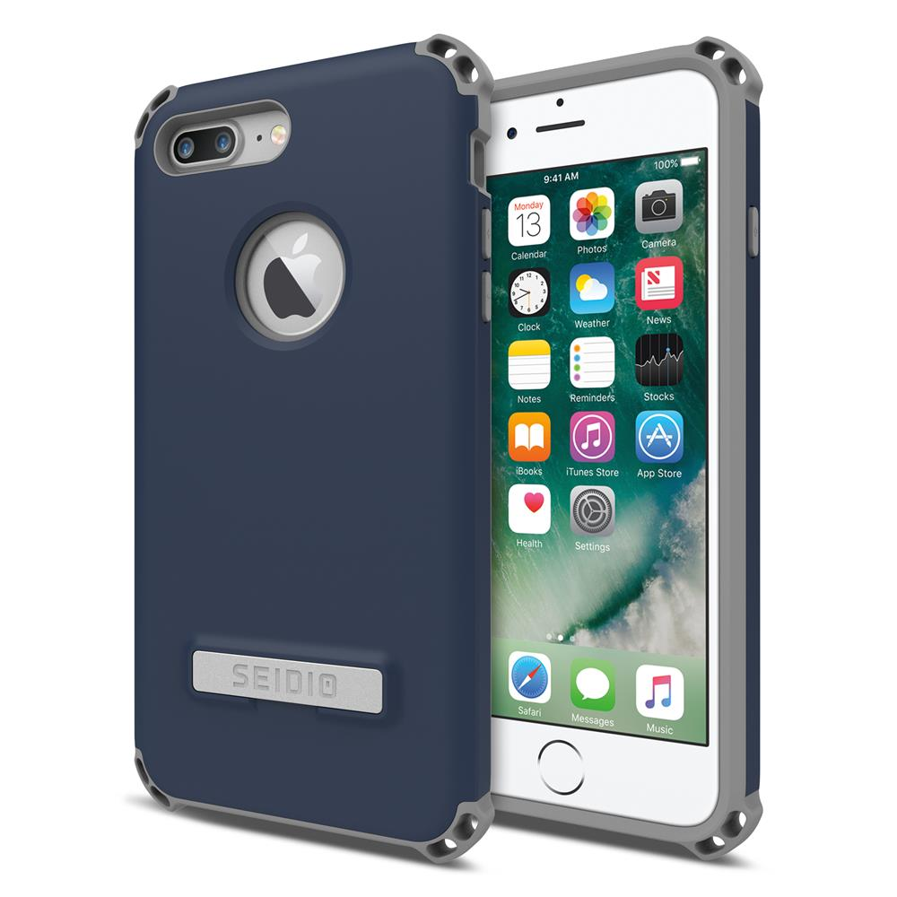 SEIDIO|軍規級四角防摔手機殼/保護殼 for Apple iPhone 7 Plus / 8 Plus-DILEX(暗夜藍)