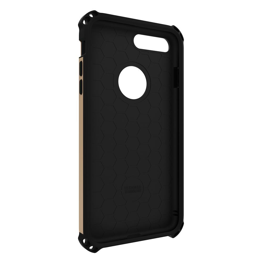 SEIDIO|軍規級四角防摔手機殼/保護殼 for Apple iPhone 7 Plus / 8 Plus-DILEX(時尚金)