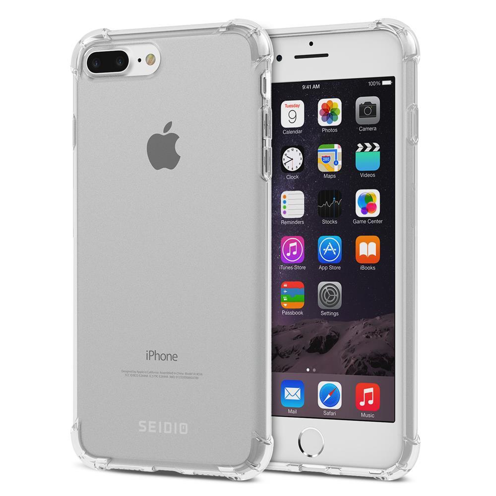 SEIDIO|四角氣墊輕透手機殼/保護殼 for Apple iPhone 7 Plus / 8 Plus-OPTIK(透明)