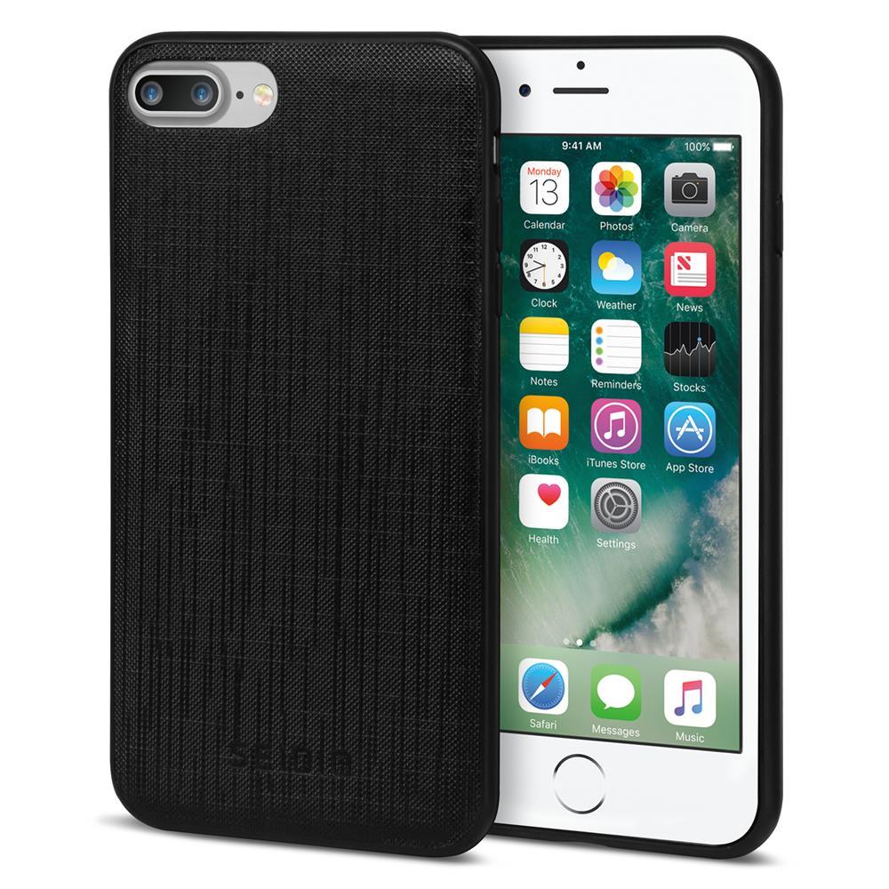 SEIDIO|極簡皮革手機殼/保護殼 for Apple iPhone 7 Plus/8 Plus-EXECUTIVE(紳士黑)
