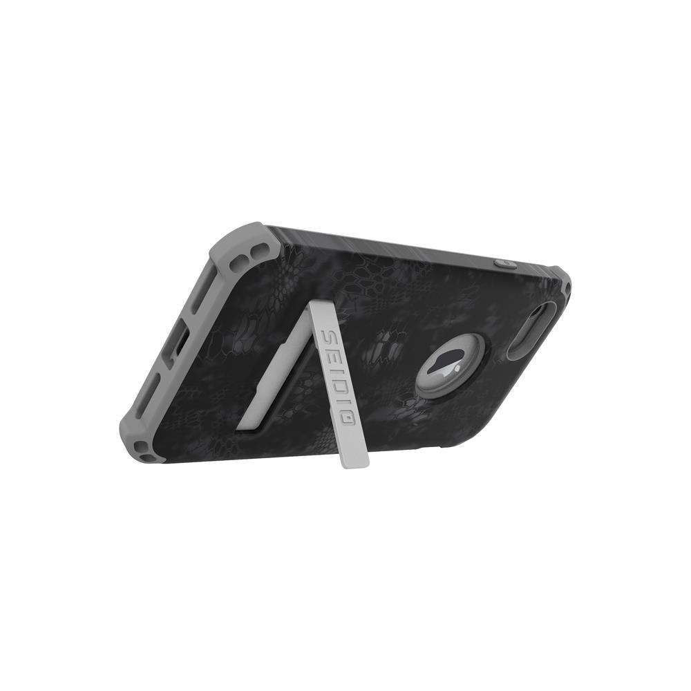SEIDIO|軍規級四角防摔手機殼/保護殼 for Apple iPhone 7/8-DILEXx KRYPTEK(闇夜黑蟒)