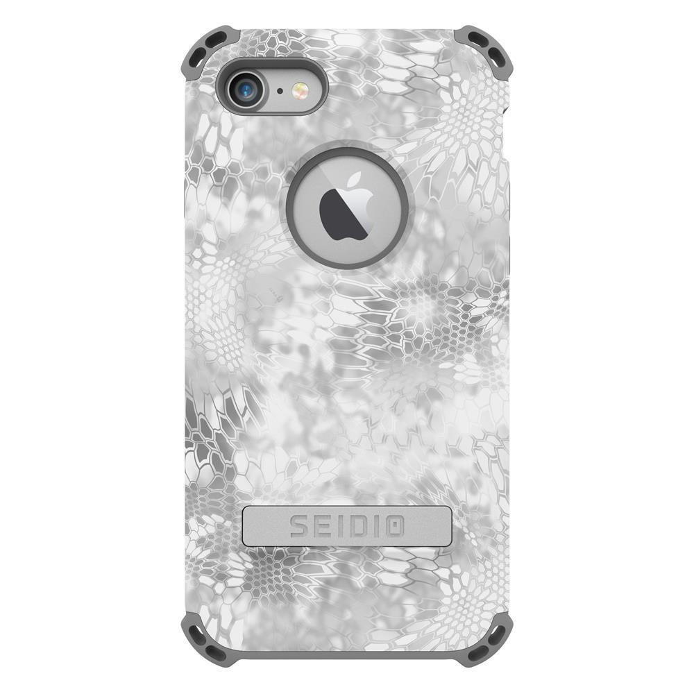 SEIDIO|軍規級四角防摔手機殼/保護殼 for Apple iPhone 7/8-DILEXx KRYPTEK(極地雪怪)