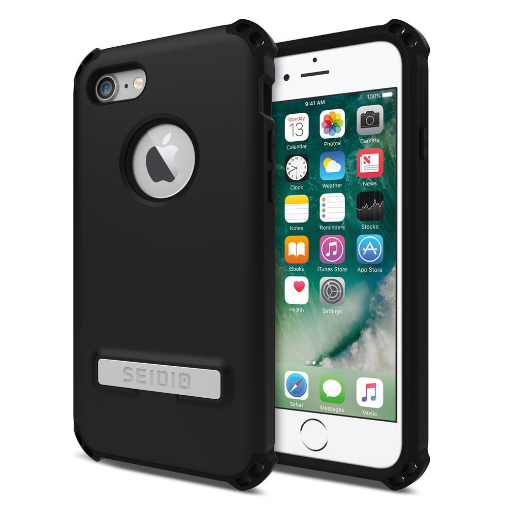 SEIDIO|軍規級四角防摔手機殼/保護殼 for Apple iPhone 7/8-DILEX(消光黑)