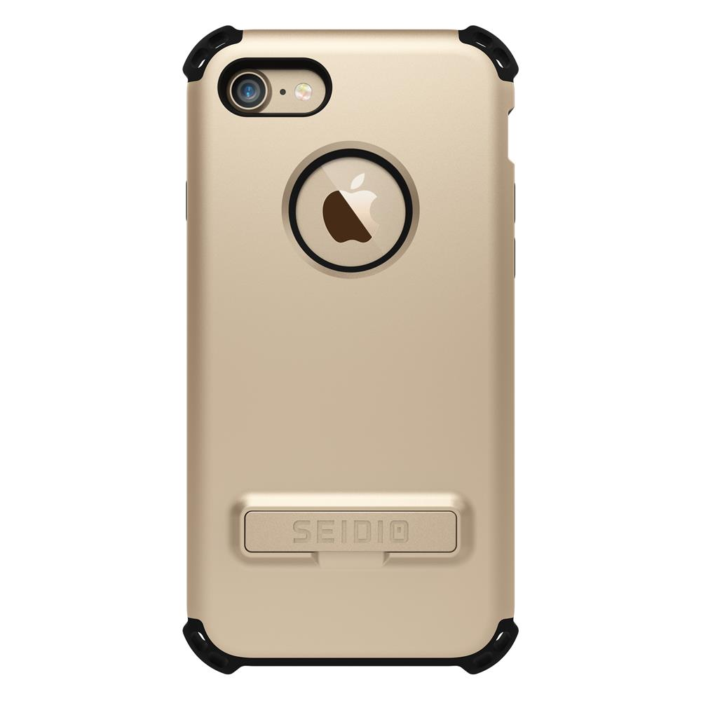 SEIDIO|軍規級四角防摔手機殼/保護殼 for Apple iPhone 7/8-DILEX(時尚金)