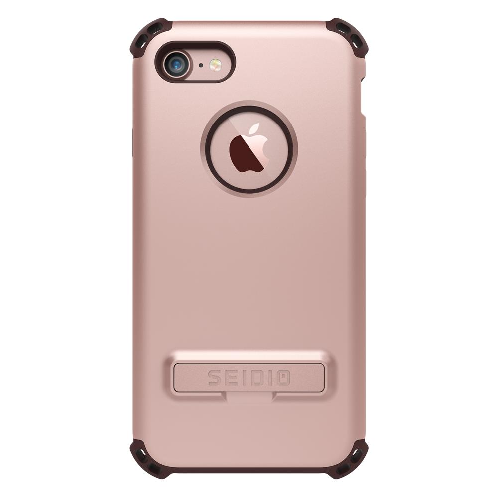 SEIDIO|軍規級四角防摔手機殼/保護殼 for Apple iPhone 7/8-DILEX(玫瑰金)
