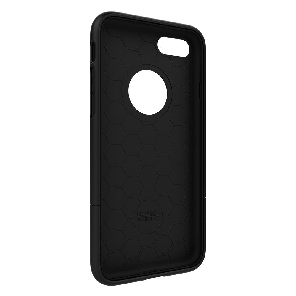 SEIDIO|都會時尚雙色手機殼/保護殼 for Apple iPhone 8-SURFACE(消光黑)