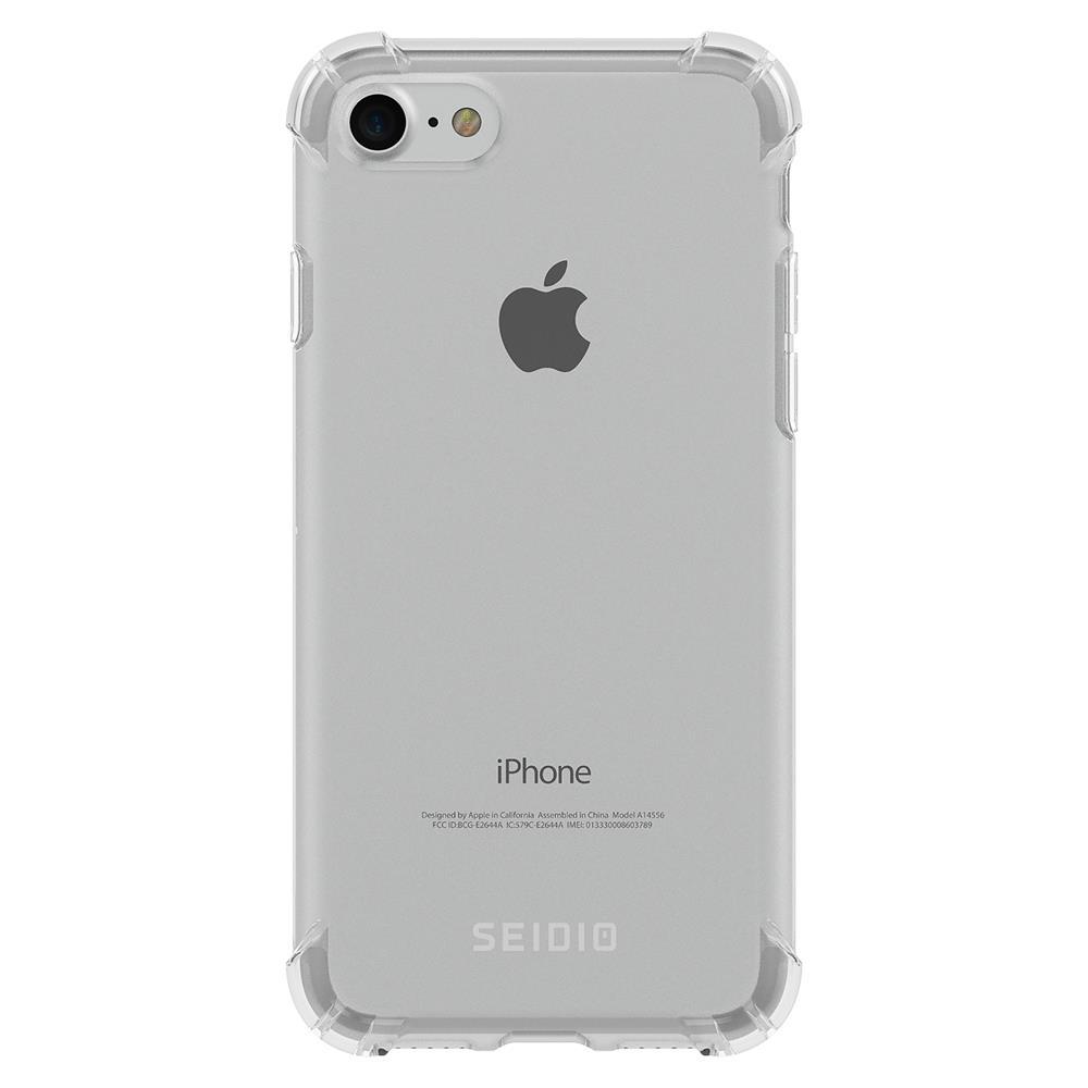 SEIDIO|四角氣墊輕透手機殼/保護殼 for Apple iPhone 7/8-OPTIK(透明)