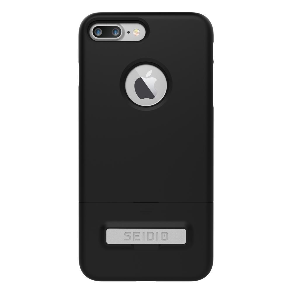 SEIDIO|都會時尚雙色手機殼/保護殼 for Apple iPhone 7 Plus-SURFACE(消光黑)