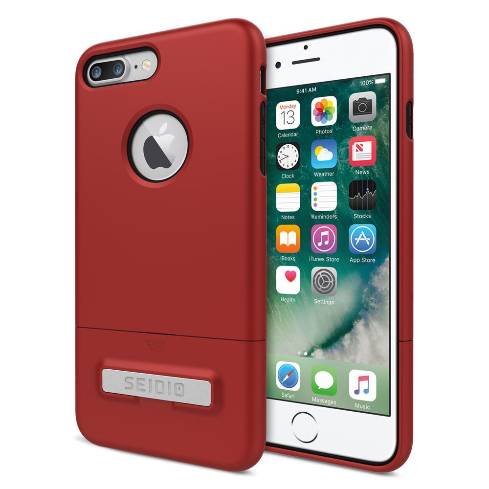 SEIDIO 都會時尚雙色手機殼/保護殼 for Apple iPhone 7 Plus-SURFACE(熱情紅)