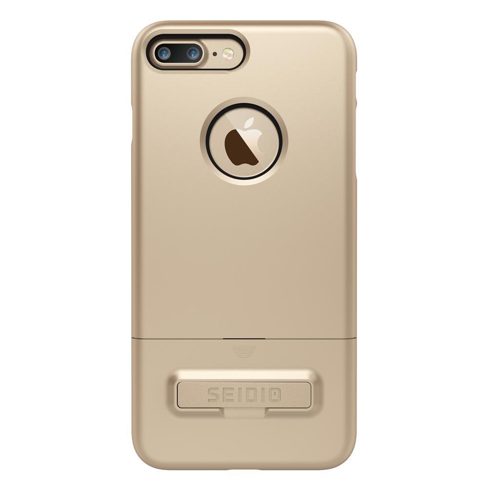 SEIDIO|都會時尚雙色手機殼/保護殼 for Apple iPhone 7 Plus-SURFACE(時尚金)