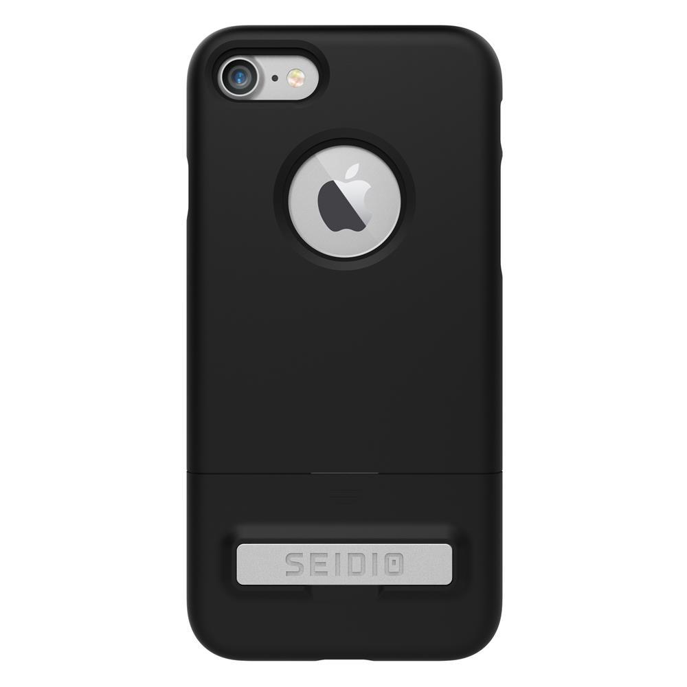 SEIDIO|都會時尚雙色手機殼/保護殼 for Apple iPhone 7-SURFACE(消光黑)