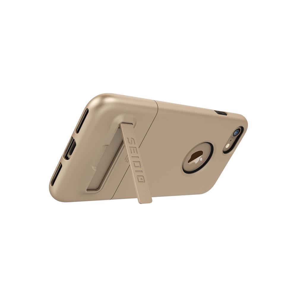 SEIDIO|都會時尚雙色手機殼/保護殼 for Apple iPhone 7-SURFACE(時尚金)