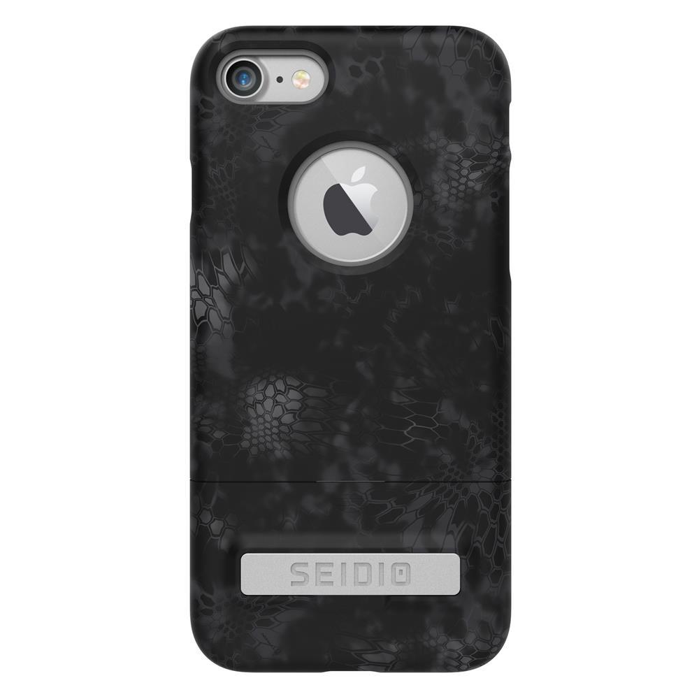 SEIDIO|迷彩聯名手機殼/保護殼 for Apple iPhone 7-SURFACE x KRYPTEK(闇夜黑蟒)